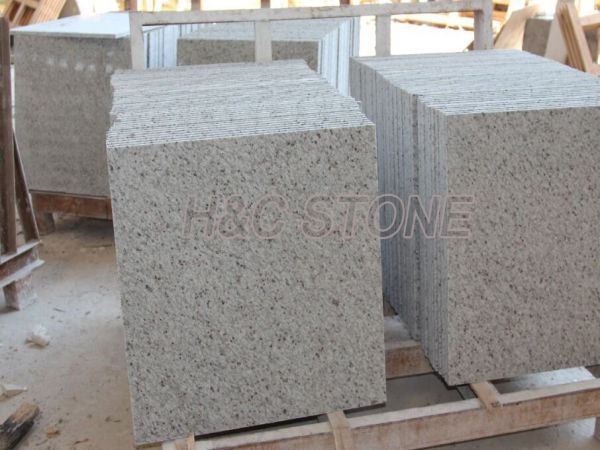 White Galaxy paving tiles - H&C Stone